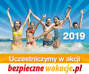 baner bezpieczne wakacje