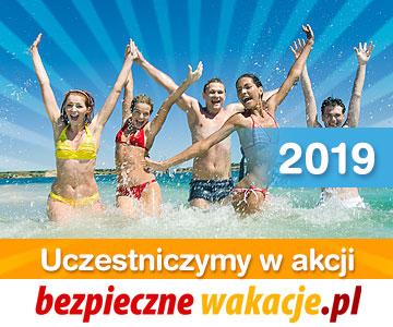Logo akcji Bezpieczne wakacje